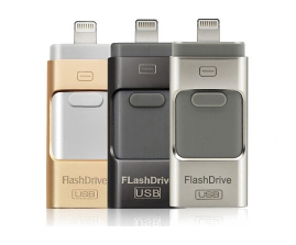 Modelo USB Flash Drive para iPhone/Apple